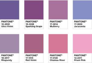 Bedeutung lila farbe Lila Logos: